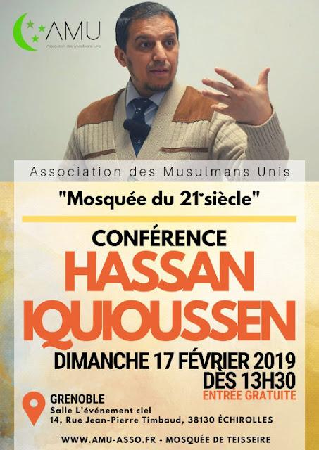 Le prédicateur Frère Musulman Hassan Iquioussen est invité à Echirolles