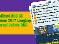 Aplikasi BOS SD Tahun 2017 Lengkap Sesuai Juknis BOS