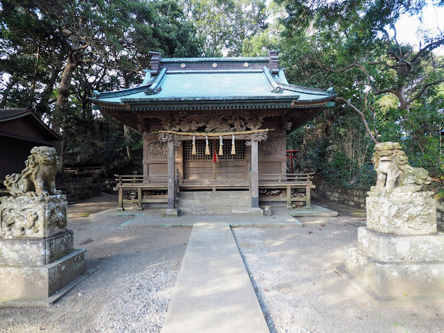 房総フラワーライン 海南刀切神社
