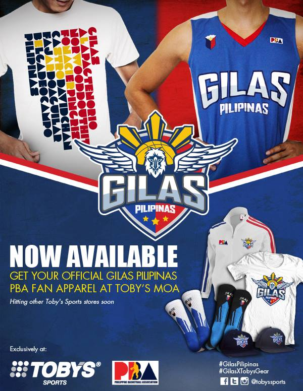 df33c960d Gilas Pilipinas  Official Gilas Pilipinas fan gear now available!