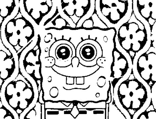 Colouringpagesonlinespongebobsquarepantscoloring  Coloring  Pages For Free