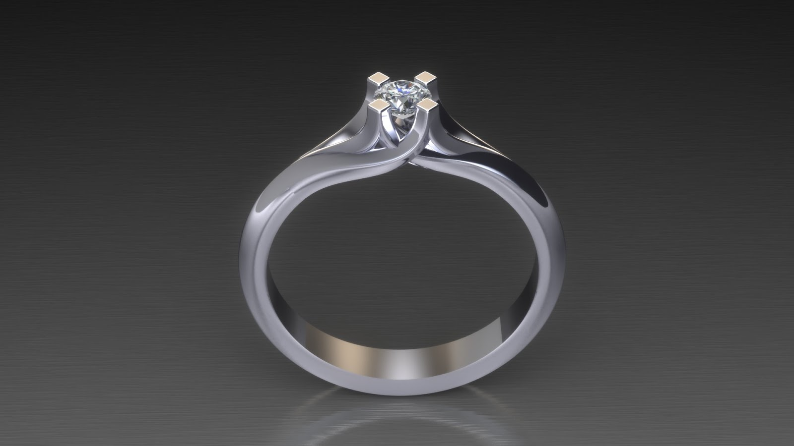 Μονόπετρο δαχτυλίδι φλόγα με διαμάντι!  fd727f30fe1