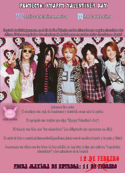 [CAMBIOS] Proyecto: Nyappy Valentine's Day (Español/English)