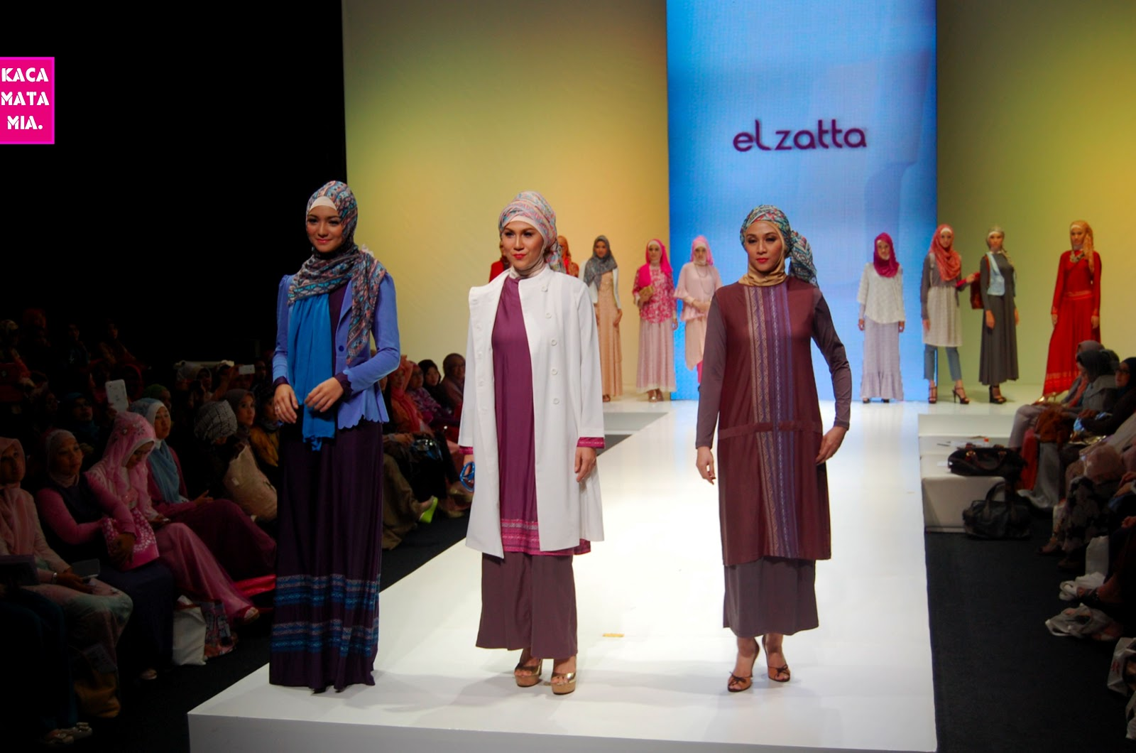 Citra Kirana: Indonesia Islamic Fashion Fair (IIFF) 2013