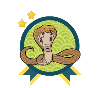 Year of the Asian Reading Challenge Level Indian Cobra