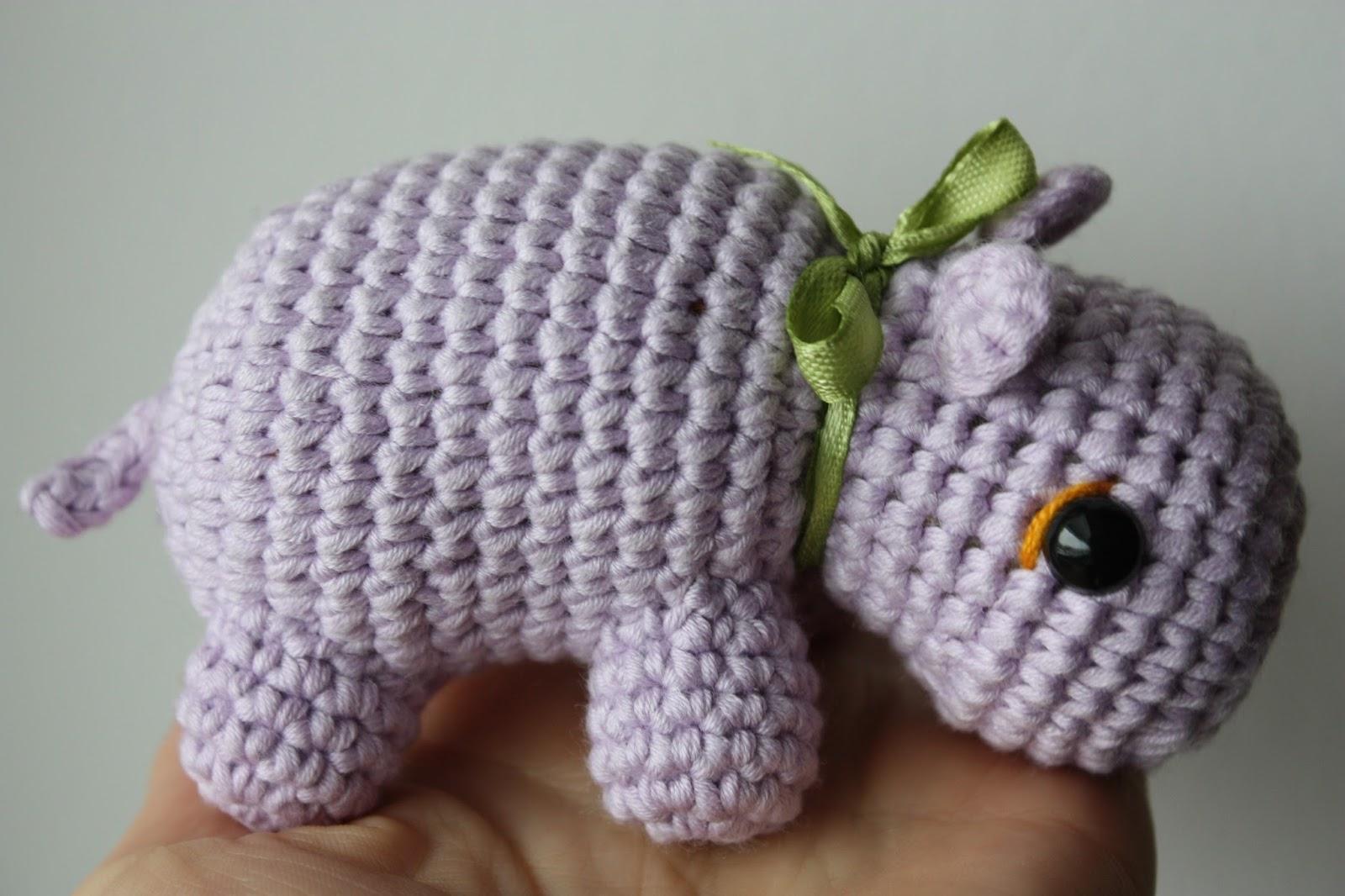 Free Amigurumi Hippo Pattern : Happyamigurumi amigurumi hippo pattern pdf amigurumi toy tutorial