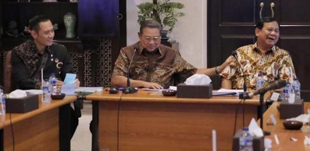 Besar, Kontribusi SBY Effect Dongkrak Elektabilitas Prabowo-Sandi