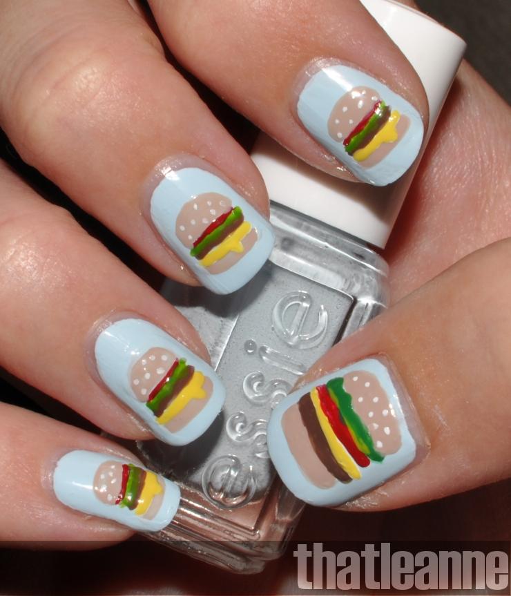 Thatleanne Chococat Nail Art: Thatleanne: Icanhascheezburger Nail Art?