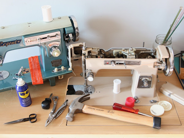 How to Restore a Vintage Sewing Machine