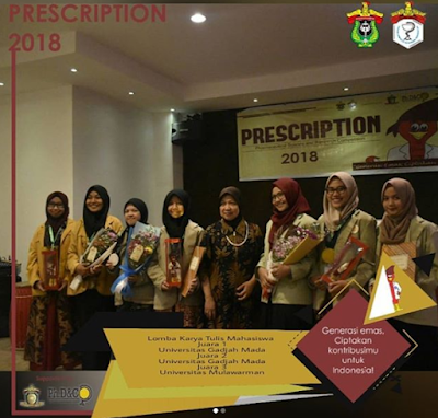 Pharmaceutical's Sciences and Research Competition (PRESCRIPTION) 2018