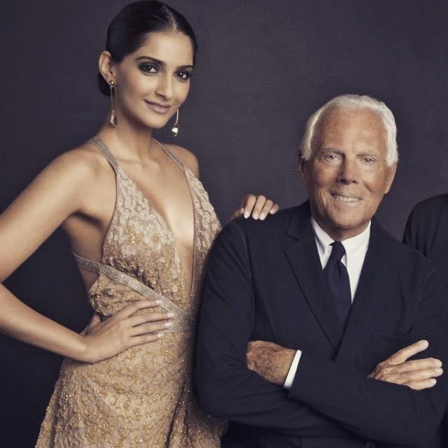 maestro moment ,, Sonam Kapoor Vogue Magazine Bold Scans April 2015 Issue