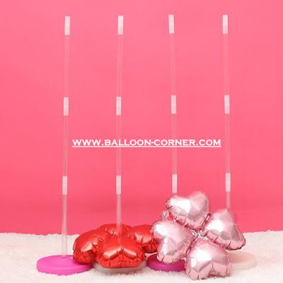 Properti Balon Tiang / Standing Balloon (TRANSPARAN)