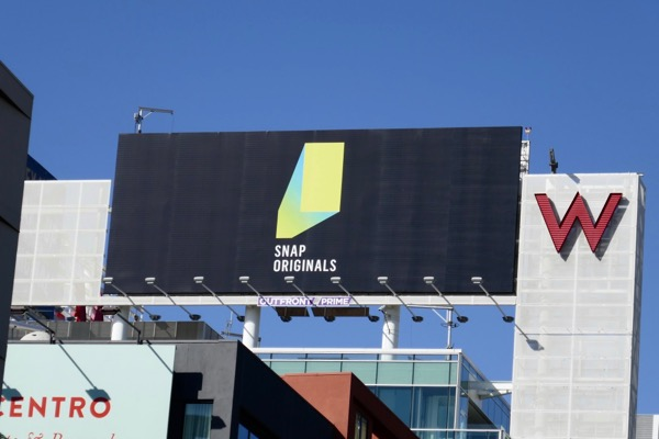 Snap Originals billboard