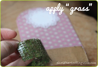 How to make fake grass