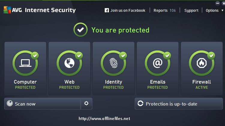 AVG Internet Security 2015 Offline Installer Free Download/ 32bit and 64bit