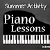 Piano Lessons for Summer
