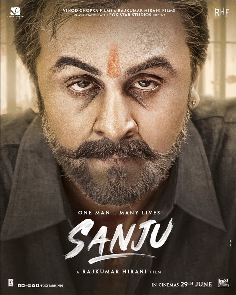 Sanju 2018 Hindi 720p DVDRip x264 1.2GB ESubs