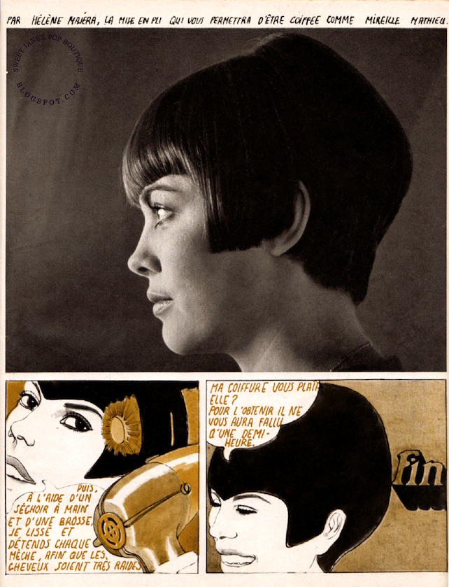 Hélène Majéra. illustration 1967