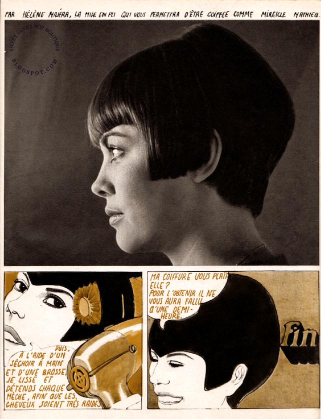Hélène Majéra. illustration 1967