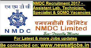 NMDC-Assistant-Technician-Specialist-vacancies