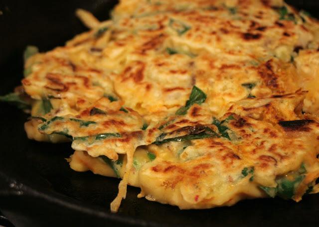Recette pancake coréenne