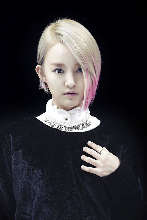 Younha's New haircut