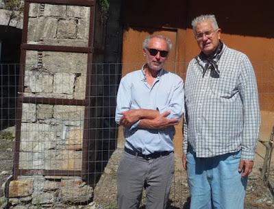 Ο καθηγητής αρχαιολογίας Αλέξανδρος Μαζαράκης-Αινιάν στο Μαντούδι Ευβοίας