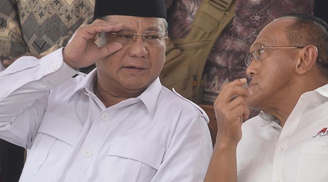 Pembina Partai Golkar Menemui Prabowo