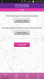 My Ovulation Calculator App