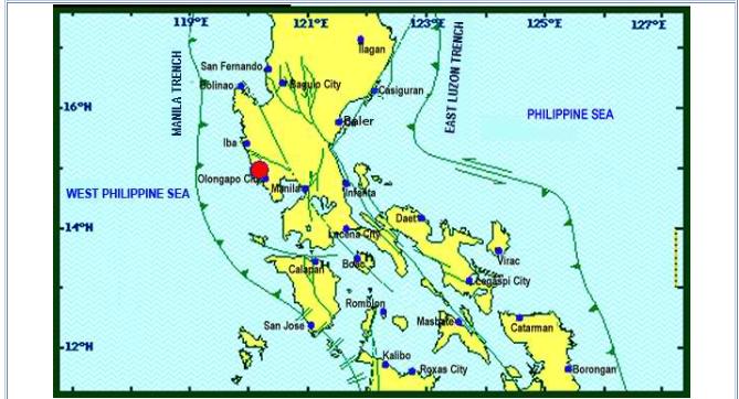 Magnitude 5.7 earthquake shakes Metro Manila, Luzon