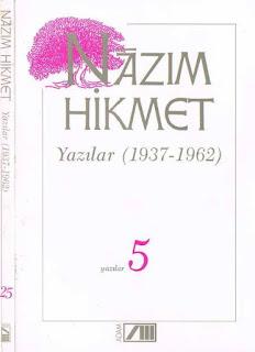 Nazım Hikmet - Bütün Eserleri 25 - Yazılar 5 - (1937-1962)