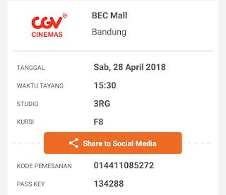 Cara Mencetak Tiket Elektronik dari TIX ID, Cinema XXI atau GO-TIX - Bankcara.com