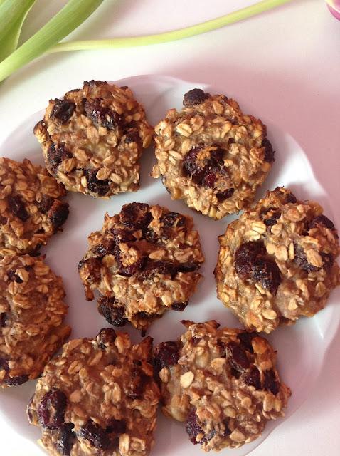 ♡ Zdrowe owsiane ciasteczka | Bez cukru i mąki ♡