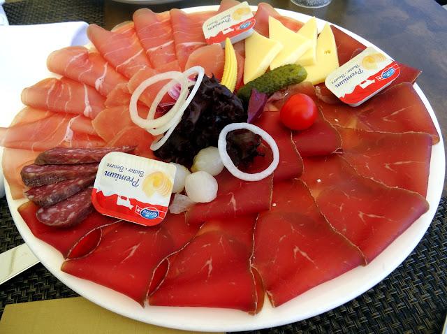Grison Plate UTO Kulm Restaurant Allegra