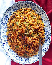Persian Rice with Green Beans