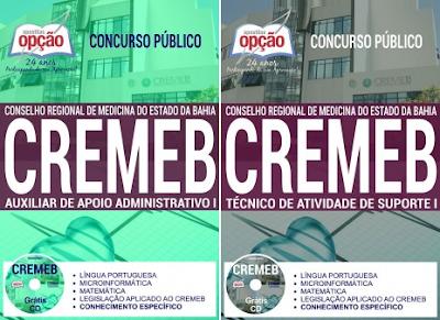 Apostila CREMEB 2017 Técnico de Atividade de Suporte