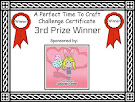 3rd Prize Winner A Perfect Time To Craft October challenge
