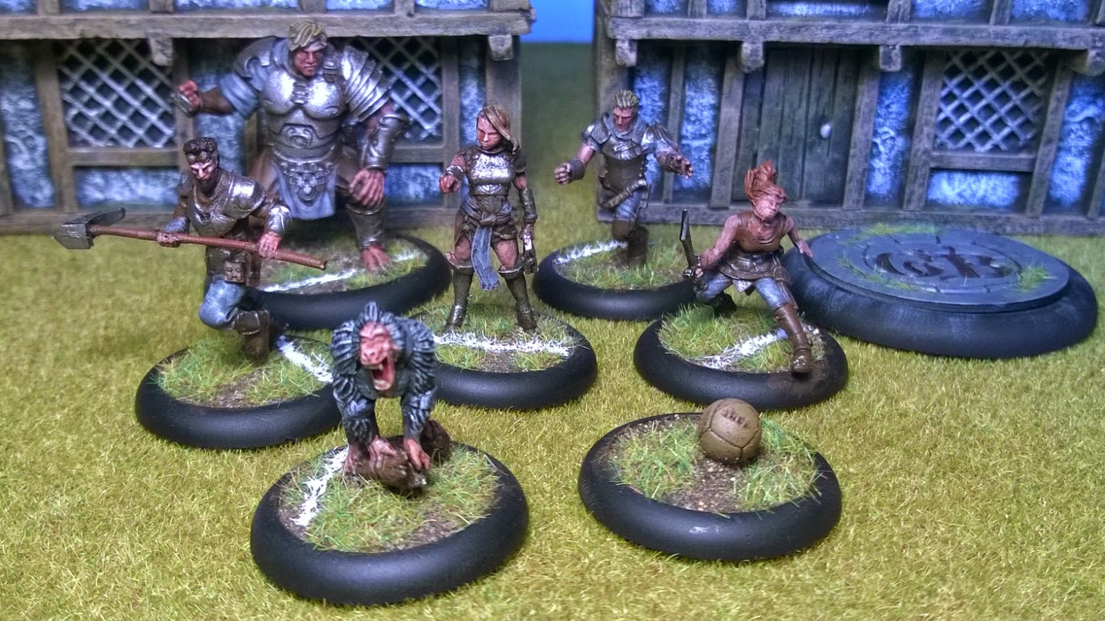 mason's guild guildball team painted