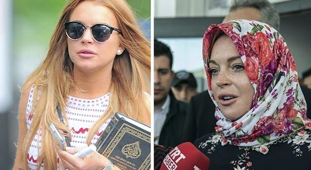 Lindsay Lohan Kembali Disebut Telah Menjadi Mualaf Lantaran Mengunggah Hadist Rasulullah Ini