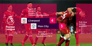 Video Cuplikan Gol Liverpool vs Manchester City 4-3 Liga Inggris 14/1/2018