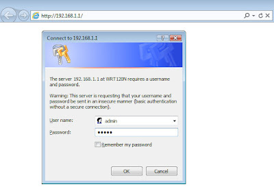 Complete Linksys-WRT120N set up: How to login to Linksys Cisco