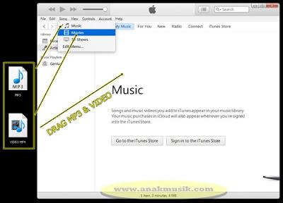 Cara Memasukan Lagu & Video ke iPhone dengan iTunes Terbaru