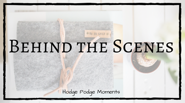 Blog Update: Behind the Scenes