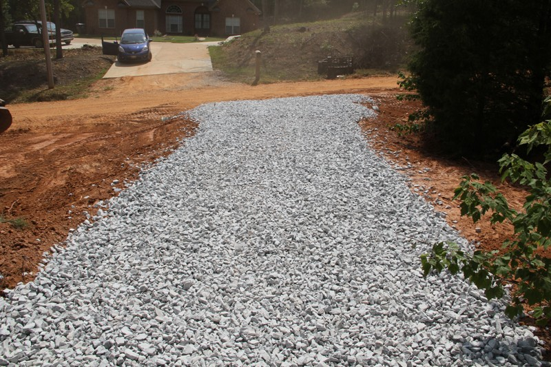 Ct Hauling Amp Materials Llc Building A Gravel Driveway In