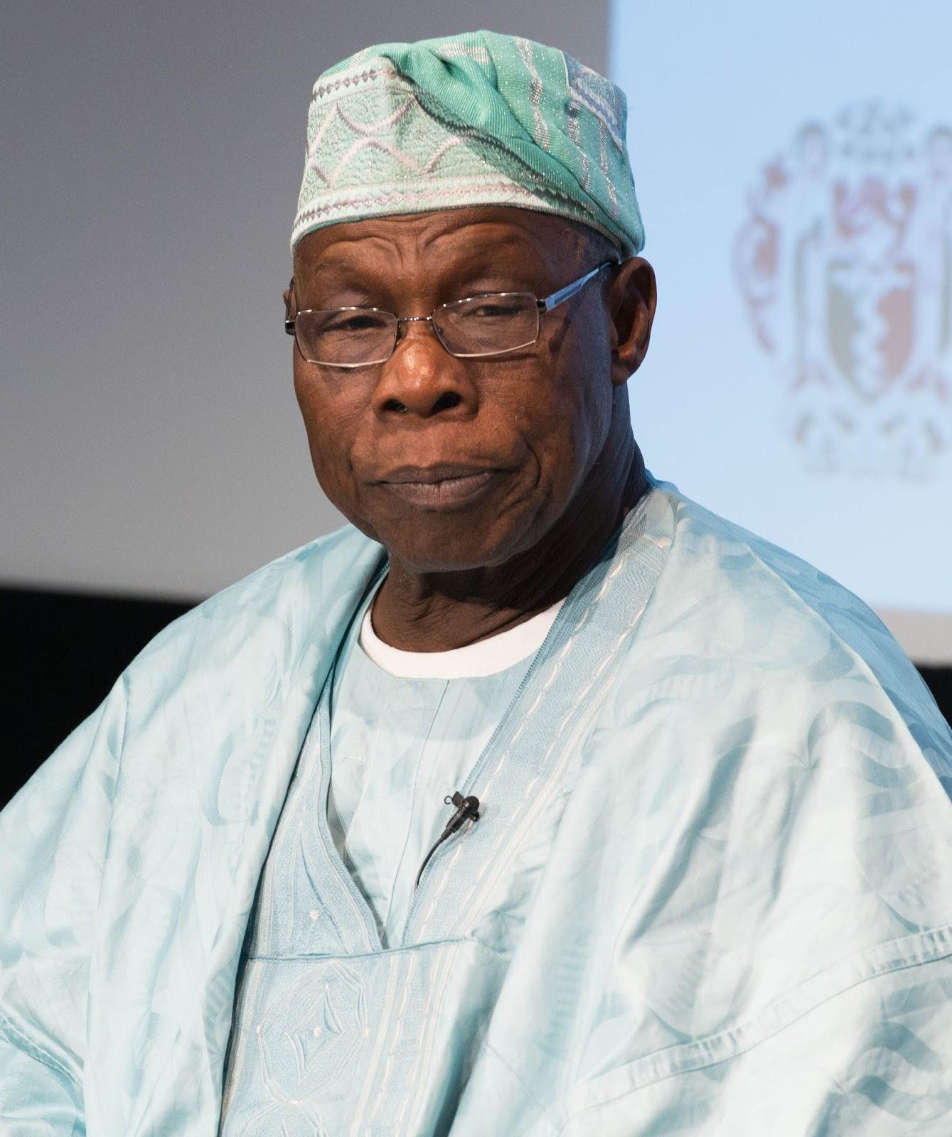 Former; President Olusegun Obasanjo commends Buhari who is away in UK.jpg