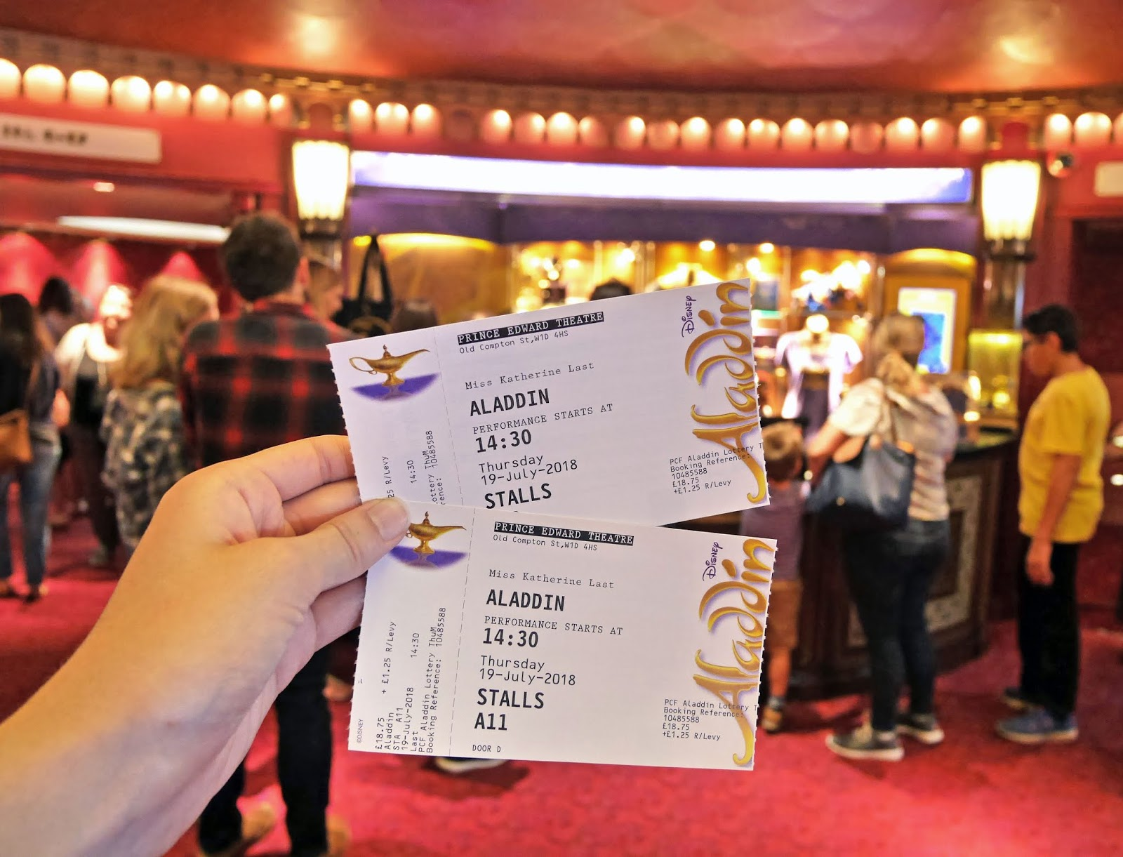 Our Aladdin The Musical tickets