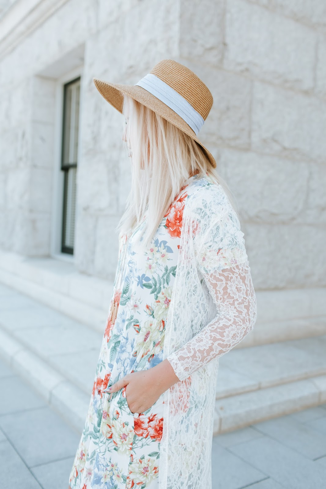 Lace Sleeves, Tall Girl, Floral