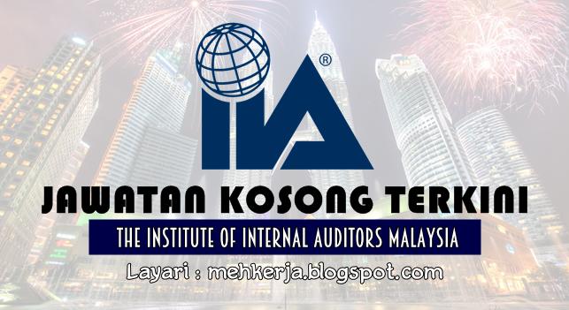 Jawatan Kosong Terkini 2016 di The Institute of Internal Auditors Malaysia