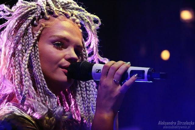 Margaret podczas koncertu w Wałbrzychu