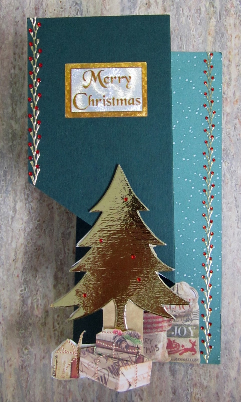 Christmas Tree Cards Ideas.Hand Made Cards Ideas And Inspiration Z Fold